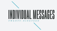 Individual Messages 2019
