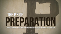 The P's of Preparation