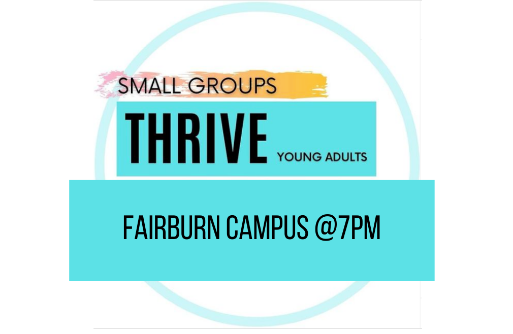 Thrive Small Groups